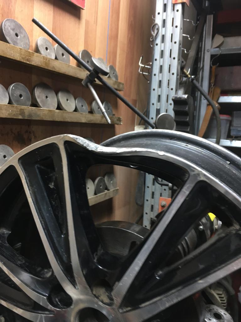 Правка литых дисков в Электростали